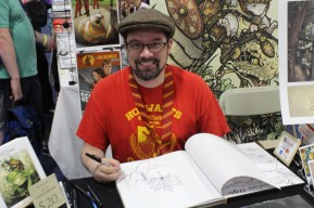 David Petersen, creator of Mouseguard