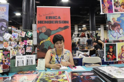 Erica Henderson, artist - The Unbeatable Squirrel Girl and Archie Comics