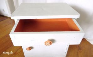 Annie Sloan Chalk Paint Barcelona Orange und Old White