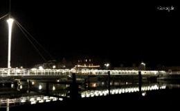 Brücke am Hafen