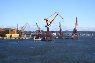 Der Hafen von Göteborg