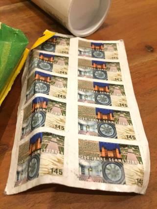 Immer gut: Briefmarken