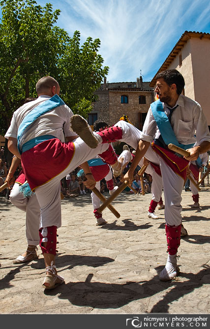 La Llacuna village festival. Penedès Wine Region, Spain