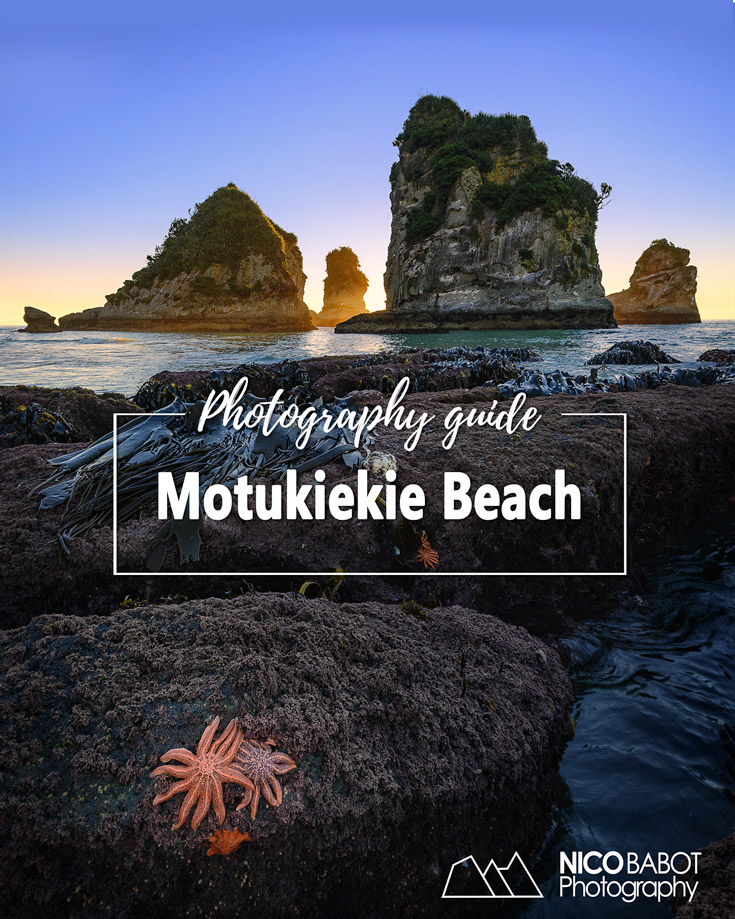 Photography Guide Motukiekie Beach