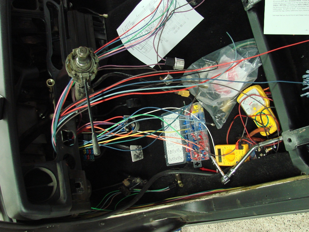 hight resolution of restoring a 1968 datsun 510 sedan wiring with a universal harness datsun 510 wiring harness a