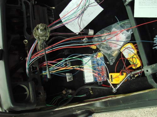 small resolution of restoring a 1968 datsun 510 sedan wiring with a universal harness datsun 510 wiring harness a
