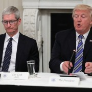 Tim Cook - Donald J Trump