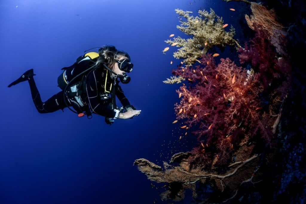 Deep Diving course in Bali with Nico Dives Cool Bali