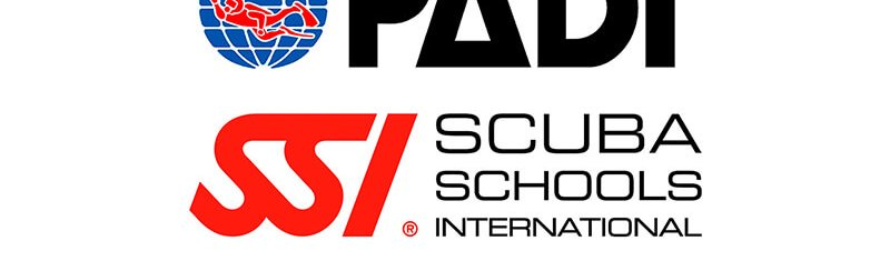 PADI or SSI for your dive courses