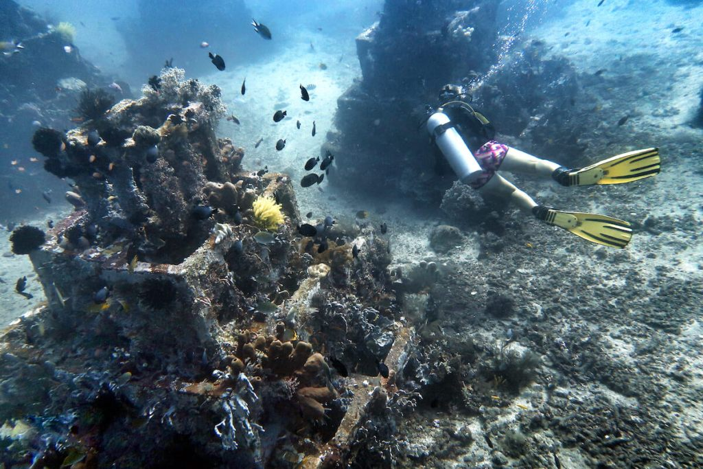 Pyramids of Amed Diving