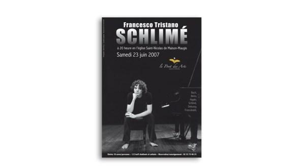 Affiche de Concert de musique classique, Asso Pont des Arts