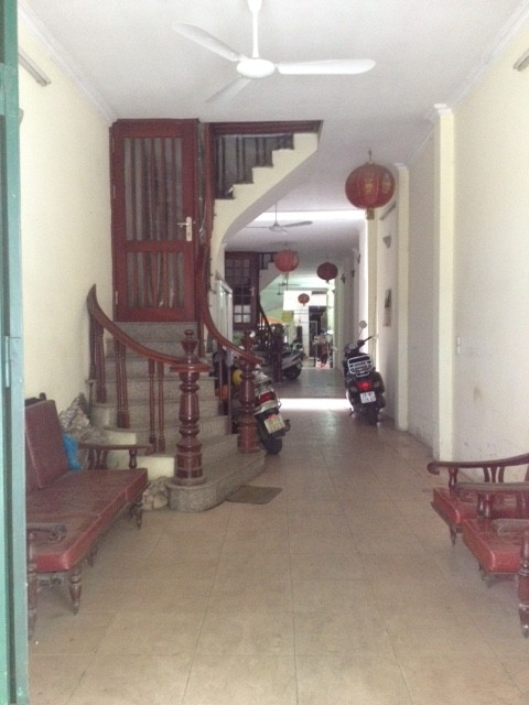 The entrance to my apartment in Hanoi