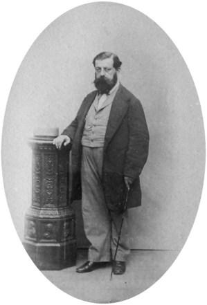 Ritratto fotografico di Andrea Boni (1815-1874)