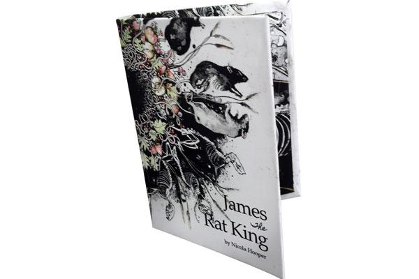 James the Rat King Artists Book
