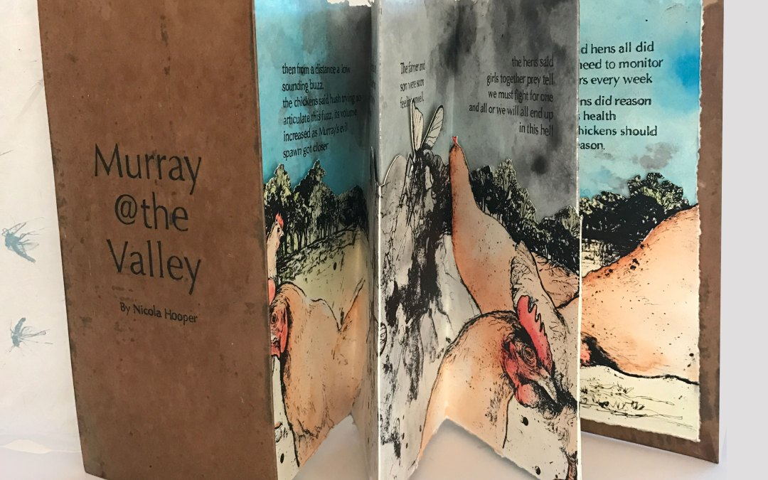 Murray@the Valley Citronella Artist Book