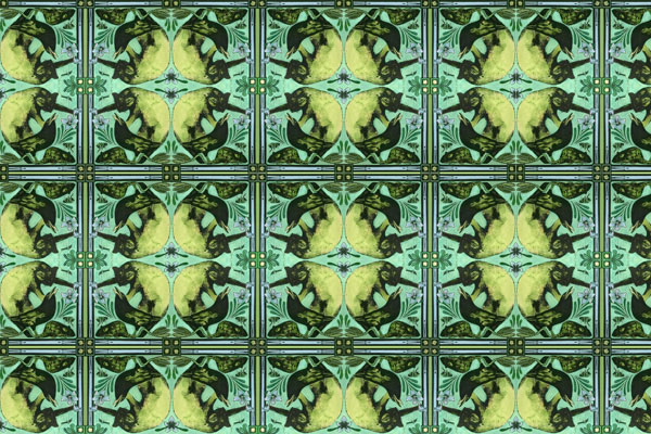 Ode to Morris' Zoonotic Wallpaper