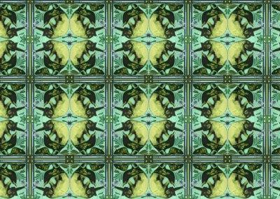 Ode to Morris' Zoonotic Wallpaper