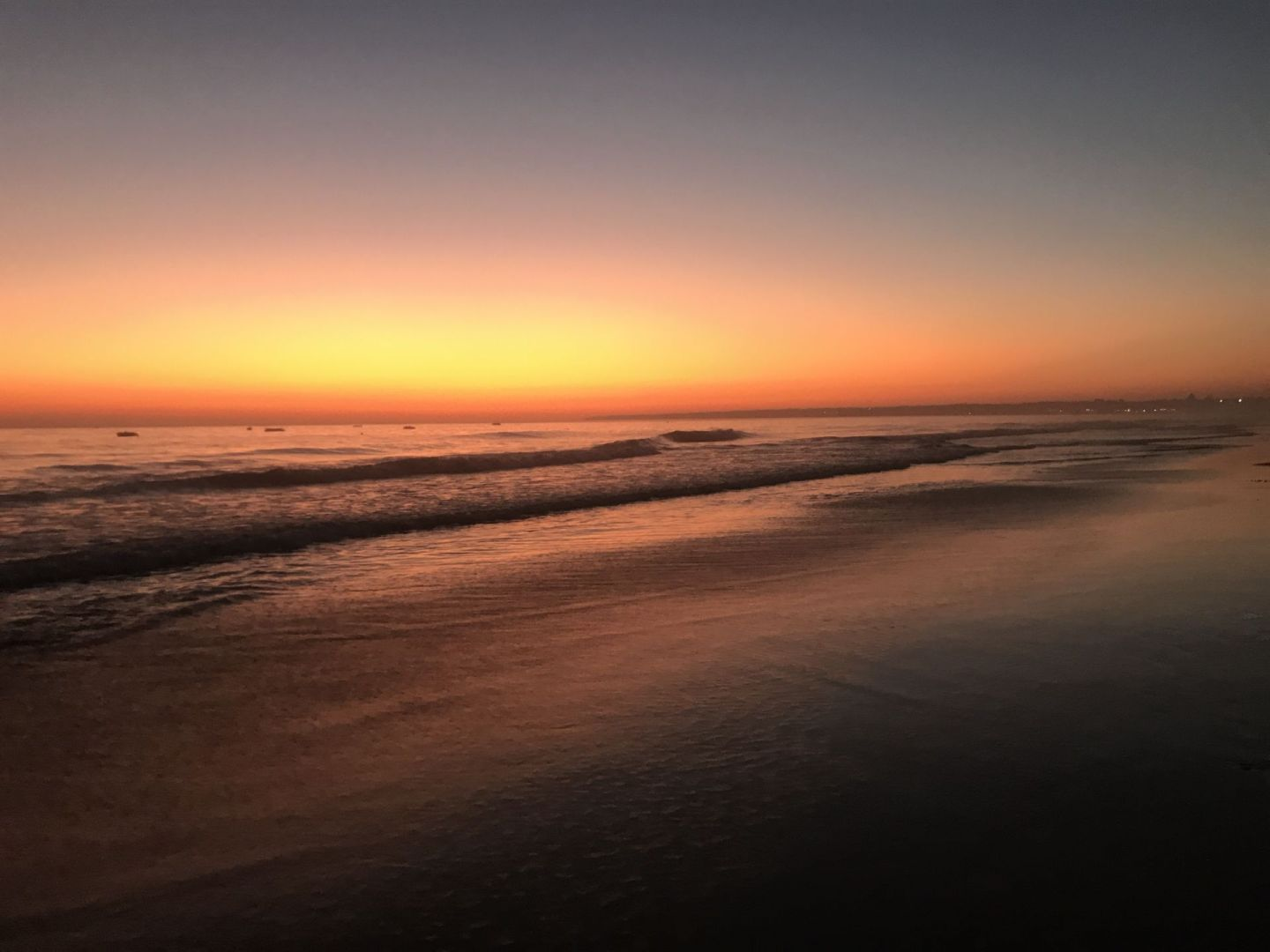 Sunset at Gale beach