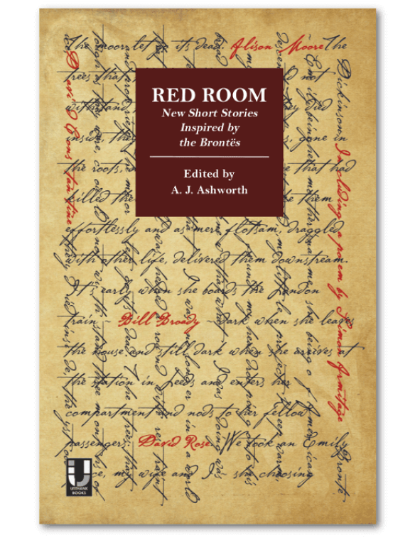 Red Room: New short stories inspired by the Brontes, edited by A.J.Ashworth - book cover