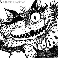 The Cheshire Cat © Nicola L Robinson