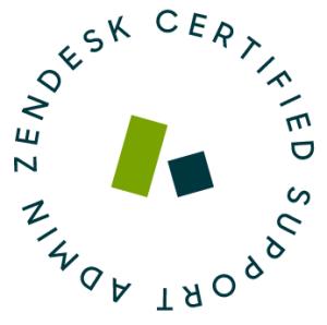 Zendesk Certified Support Admin Logo