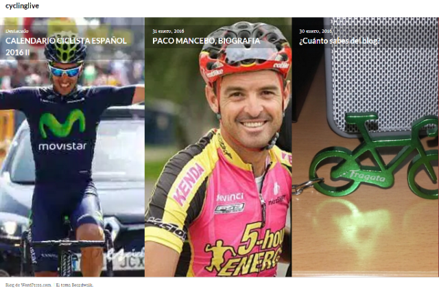 blogs ciclismo CYCLINGLIVE