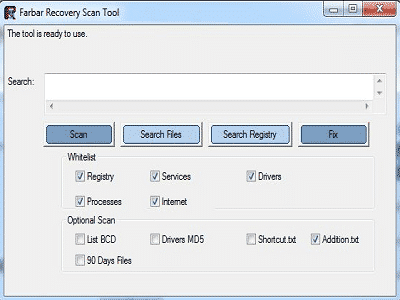 Download Farbar Recovery Scan Tool (FRST) (Free)