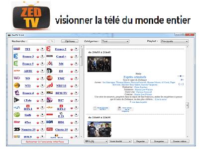 TÉLÉCHARGER ZEDTV WINDOWS 7