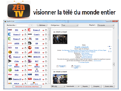 Téléchargez ZedTV (Gratuit)