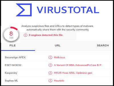 VirusTotal Service (Gratuit)