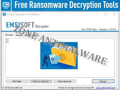 Téléchargez Emsisoft Decryptor STOP (Djvu) (Gratuit)
