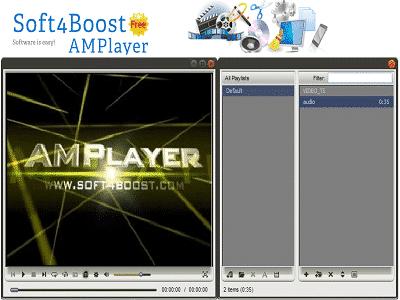 Téléchargez Soft4Boost AMPlayer (Gratuit)