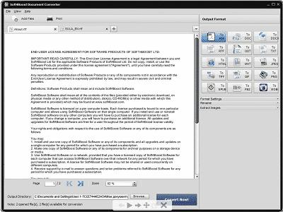 Téléchargez Soft4Boost Document Converter (Gratuit)