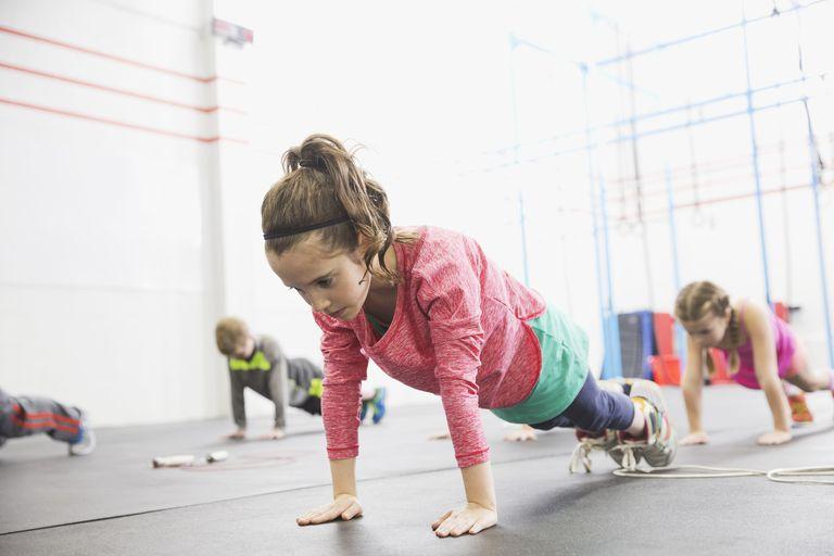 styrketräning för barn och ungdomar