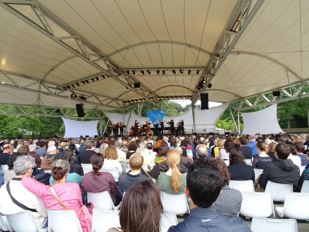 Orchestre Ostinato au Festival Classique au Vert