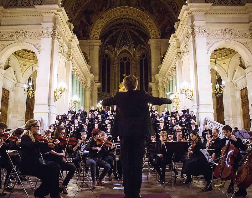 Orchestre Hélios à la Trinité