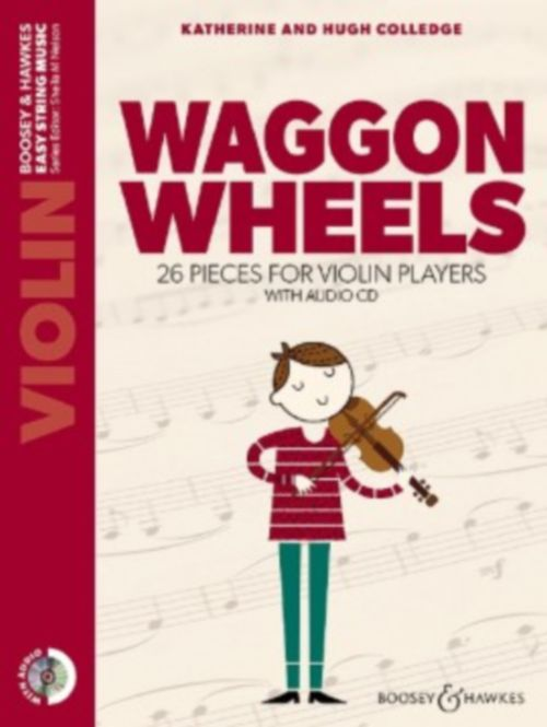 Colledge Waggon Wheels violon CD