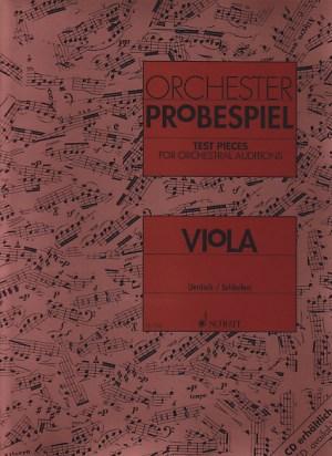 Schott Traits d'orchestre alto