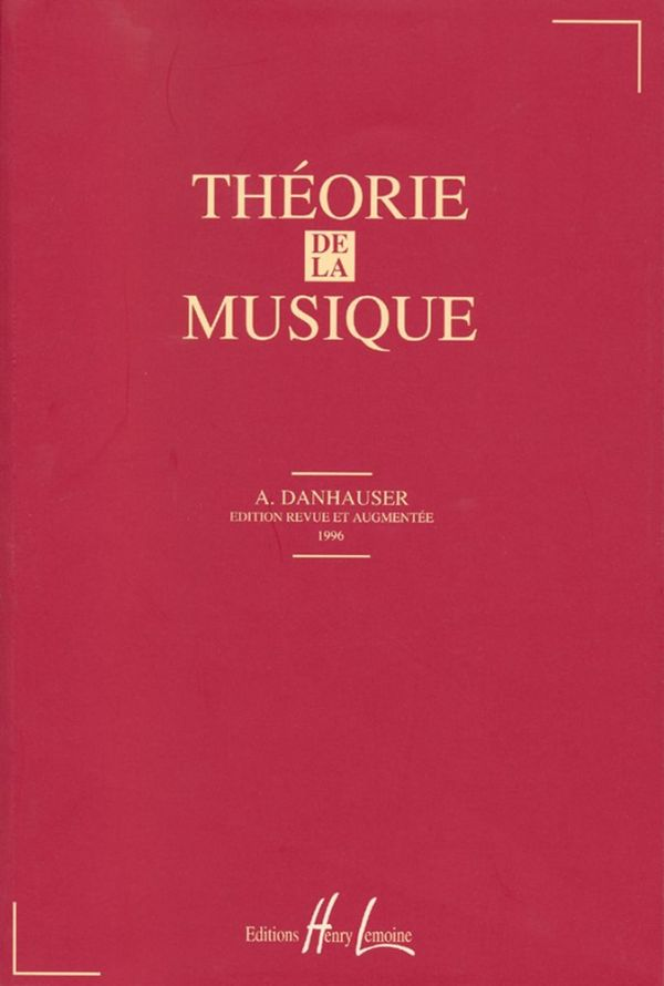 Danhauser Théorie de la Musique