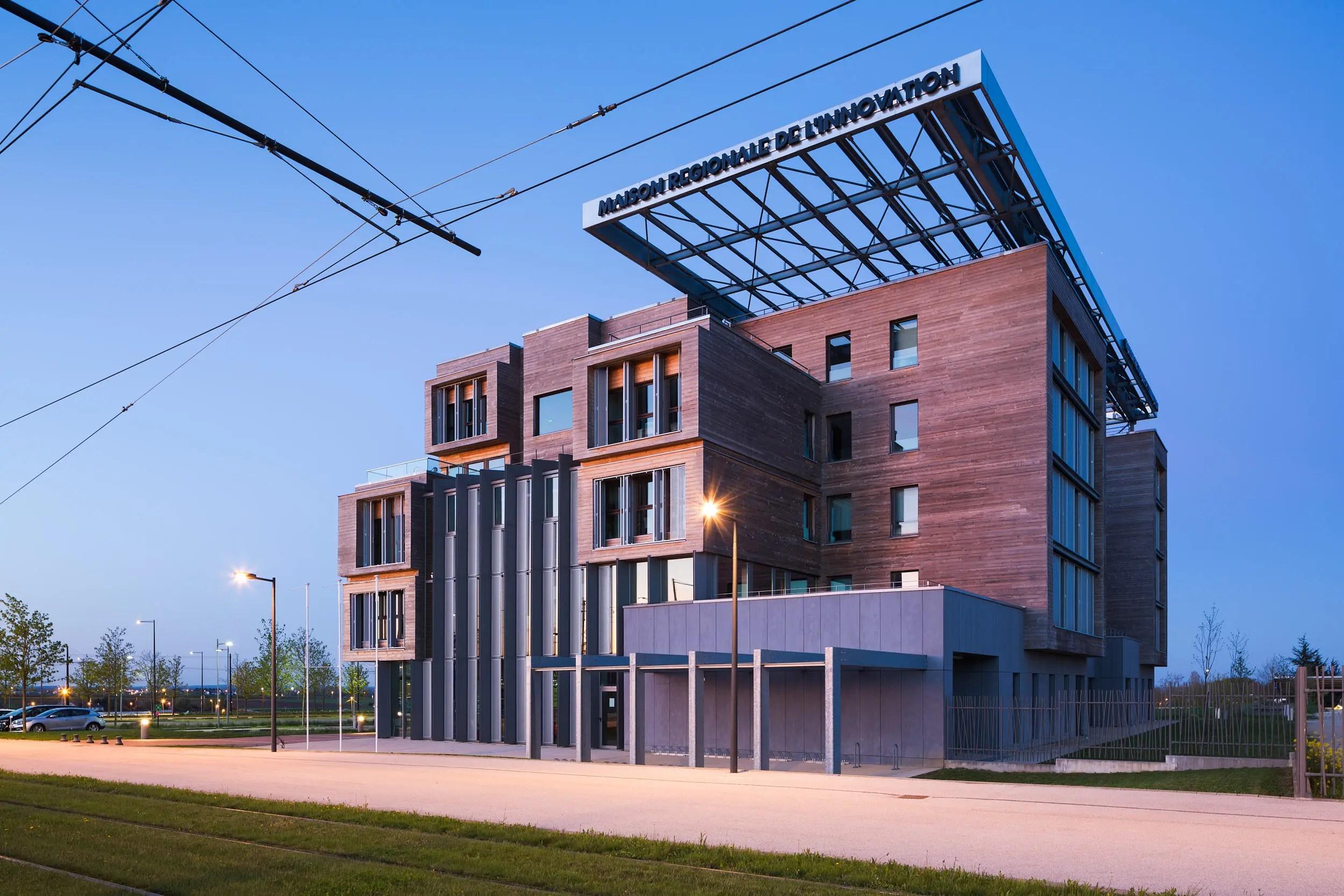 Maison Régionale de l'Innovation - Dijon | Arte Charpentier