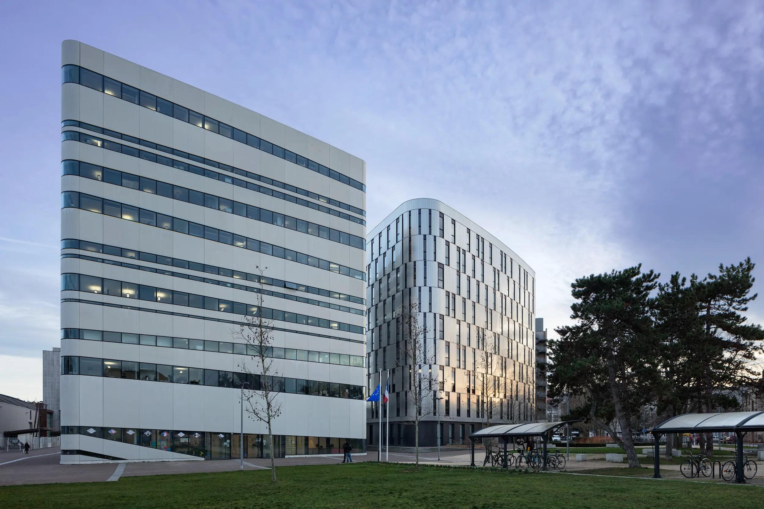 Rectorat - Dijon Architecte: AtelierCalc