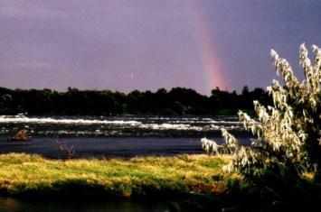 Arc en Ciel sur les rapides du canal Lachine