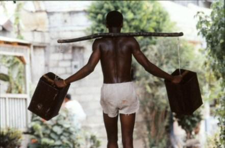 Cuba, le porteur d'eau