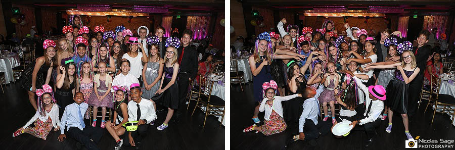 burbank bar bat mitzvah photographer bellaj banquet hall