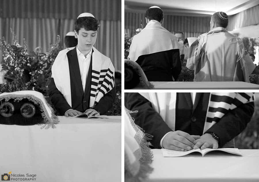 Black and White Bar Mitzvah Photography