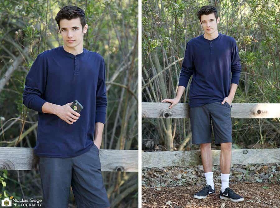 Teen Model Portfolio photos
