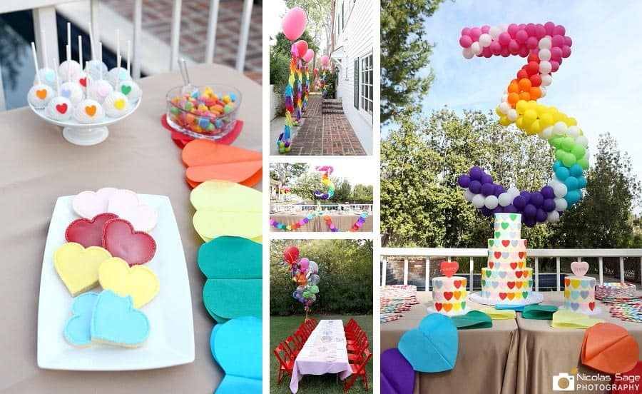 West Los Angeles Kids Birthday Party Photography