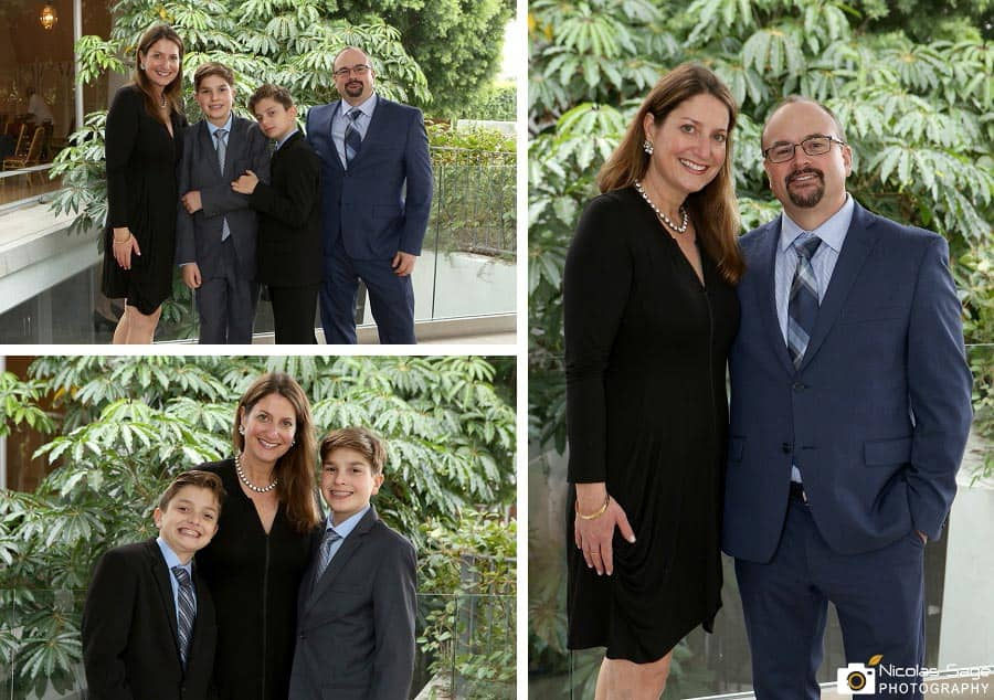 Culver City Bar Mitzvah Family Portraits
