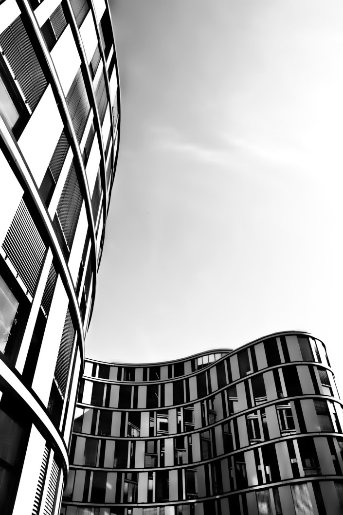 architekturfotografie - hamburger welle