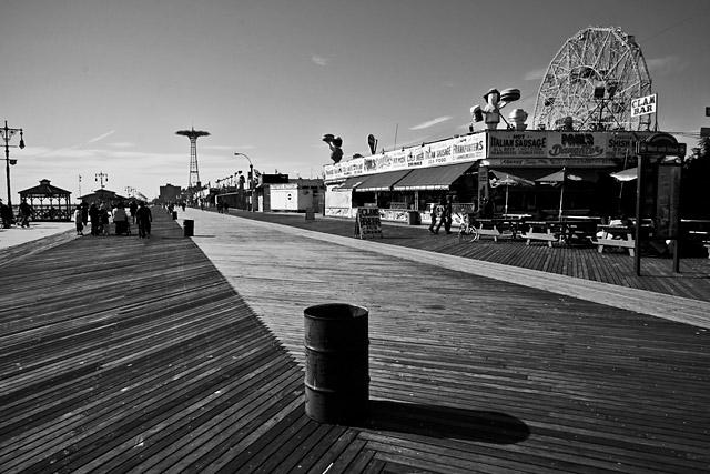 Coney Island Boardwalk Bailey